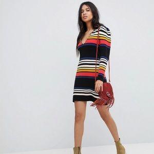 Free People Mini Gidget Sweater Dress